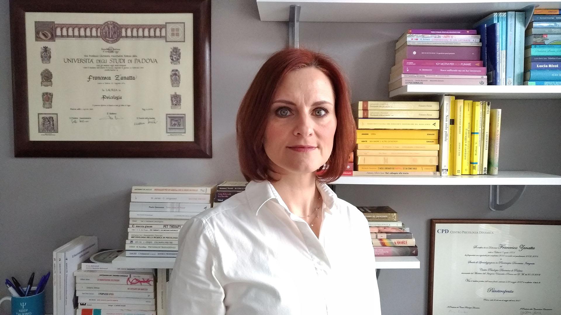 Dott.ssa Zanatta Psicologa Padova