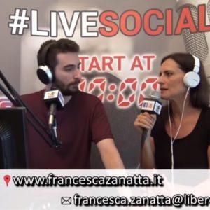 VIDEOINTERVISTA a Radio Venezia Live Social